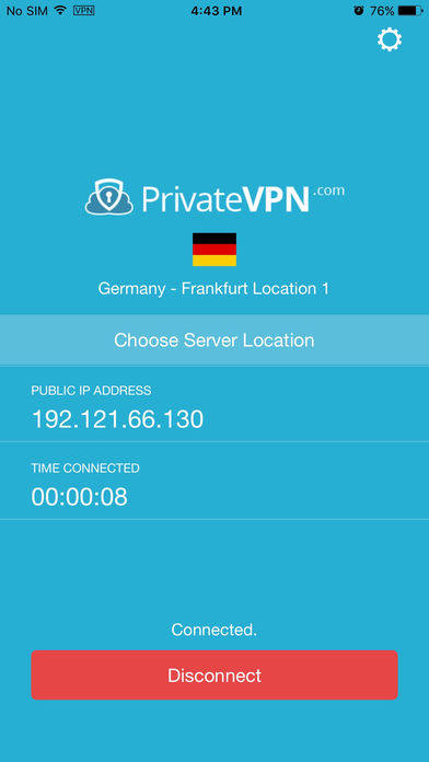 privatevpn ios